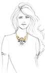 Big Bang Necklace by LULU FROST for Preorder on Moda Operandi