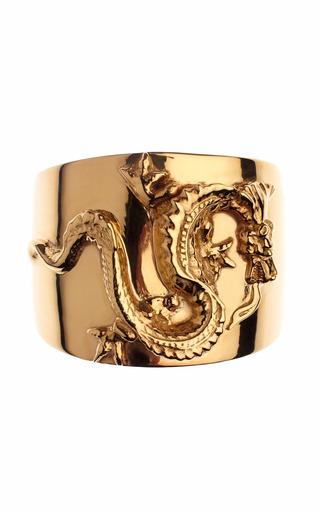 Medium tom binns gold animal collective gold dragon cuff
