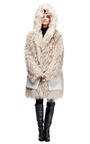 Oversized Shearling And Leather Coat by LOEWE Now Available on Moda Operandi