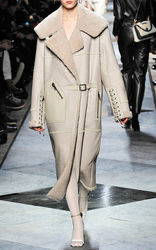 Oversized Shearling Coat by Loewe | Moda Operandi