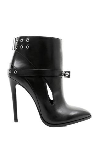 Medium anthony vaccarello black abisko boot