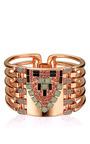 Rose Gold Plated Arrow Head Cuff by MAWI for Preorder on Moda Operandi