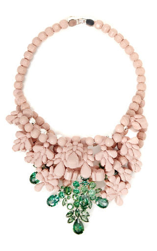 Medium ek thongprasert x natasha goldenberg pink misha necklace