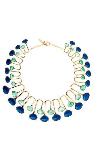 Medium lele sadoughi multi meteor shower necklace 2