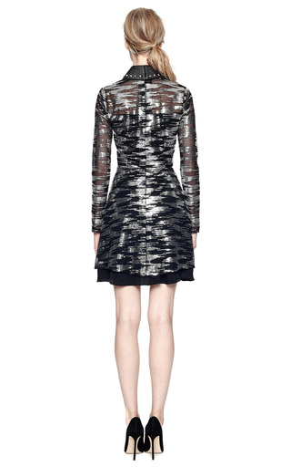 M'o Exclusive: Sequin Embellished Tulle Dress by RODARTE Now Available on Moda Operandi