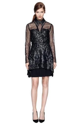 Metallic Star Tulle Dress by RODARTE Now Available on Moda Operandi