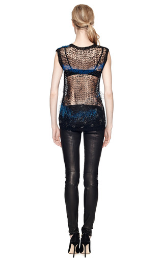 Loose Hand Knit Sweater by RODARTE Now Available on Moda Operandi