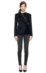 Stud Embellished Fitted Cotton Jacket by GIVENCHY Now Available on Moda Operandi