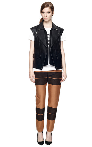 Leather Vest by GIVENCHY Now Available on Moda Operandi