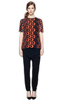 M'o Exclusive: Silk Cady Drop Crotch Pants by GIVENCHY Now Available on Moda Operandi