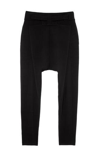 Medium givenchy black mo exclusive silk cady drop crotch pants