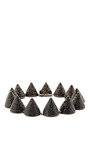 Extra Large Pave Crystal Cone Necklace by EDDIE BORGO Now Available on Moda Operandi