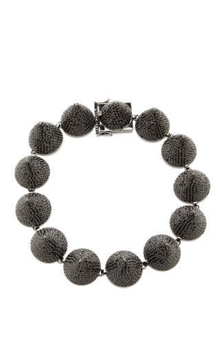Medium eddie borgo black extra large pave crystal cone necklace