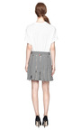 M'o Exclusive: Wool Zipped Kilt by THOM BROWNE Now Available on Moda Operandi