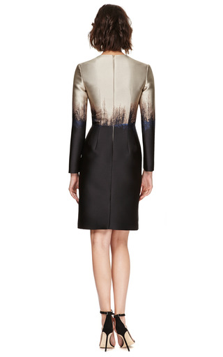 Saga Trees Fitted Dress by MARY KATRANTZOU Now Available on Moda Operandi