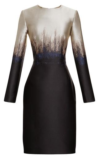 Medium mary katrantzou multi saga trees fitted dress