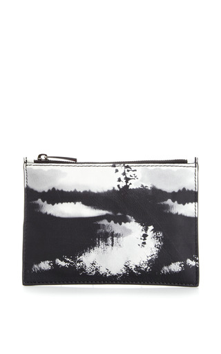 Medium mary katrantzou multi woodstock leather pouch