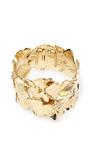 Gold Plated Ginkgo Feather Cuff by AURéLIE BIDERMANN Now Available on Moda Operandi