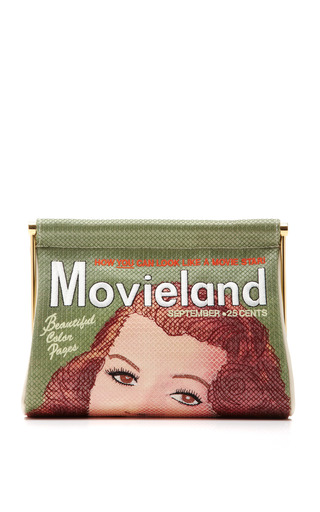 Medium charlotte olympia multi movieland embroidered clutch
