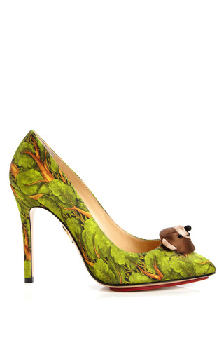 Medium charlotte olympia multi bear necessities printed pump