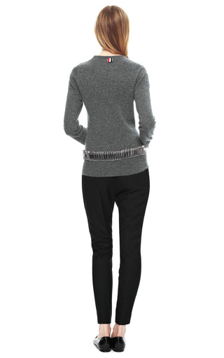 Slim Wool Gabardine Pants by BOUCHRA JARRAR Now Available on Moda Operandi
