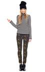 Striped Wool Sweater by BOUCHRA JARRAR Now Available on Moda Operandi