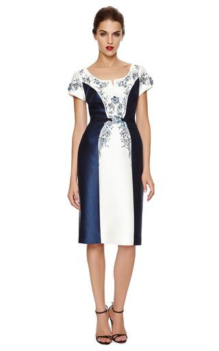 Beaded And Embroidered Mikado Dress by CAROLINA HERRERA Now Available on Moda Operandi