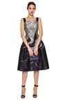 Fitted Drop Waist Jacquard Dress by CAROLINA HERRERA Now Available on Moda Operandi
