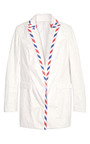 Blazer With Postal Stripe by CHALAYAN Now Available on Moda Operandi