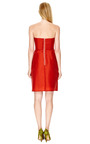 Strapless Wool Gazar Dress by CARVEN Now Available on Moda Operandi