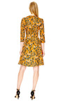 Crinkled Sateen V Neck Dress by CARVEN Now Available on Moda Operandi