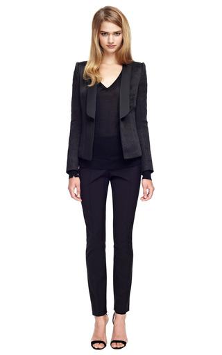 Structured Jacquard Blazer by BALMAIN Now Available on Moda Operandi