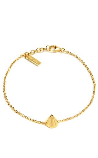 Gold Plated Cone Bracelet by EDDIE BORGO Now Available on Moda Operandi