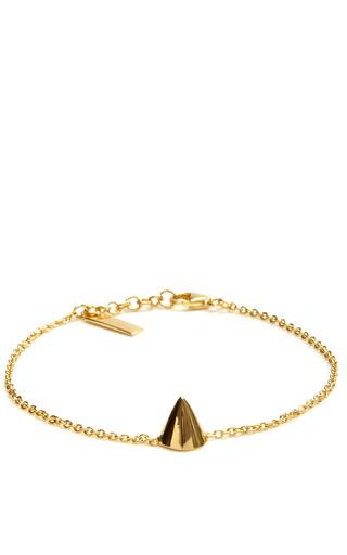 Medium eddie borgo gold gold plated cone bracelet