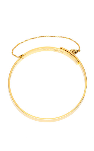 Medium eddie borgo gold small safety chain choker