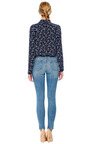 Reese Anchor Print Silk Blouse by EQUIPMENT Now Available on Moda Operandi