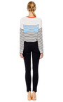 Liam Striped Silk Top by EQUIPMENT Now Available on Moda Operandi