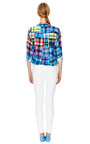 Signature Plaid Print Silk Shirt by EQUIPMENT Now Available on Moda Operandi