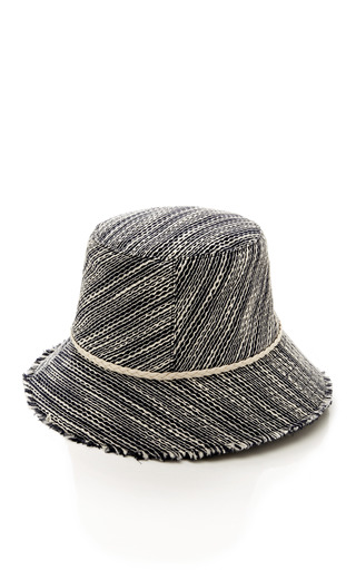 Joan Linen Hat by EUGENIA KIM Now Available on Moda Operandi