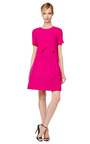 Double Crepe Wool Drop Waist Dress by GIULIETTA Now Available on Moda Operandi
