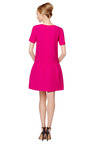 Double Crepe Wool Drop Waist Dress by GIULIETTA Now Available on Moda Operandi