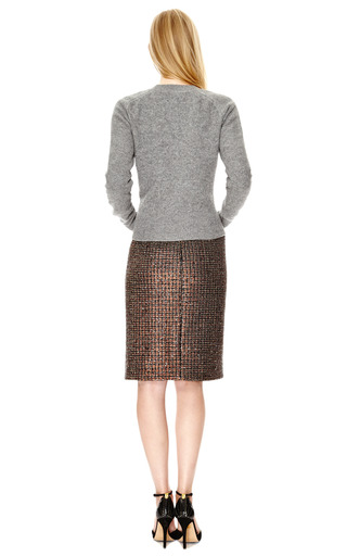 Boiled Wool Crewneck Twisted Sweater by J.W. ANDERSON Now Available on Moda Operandi