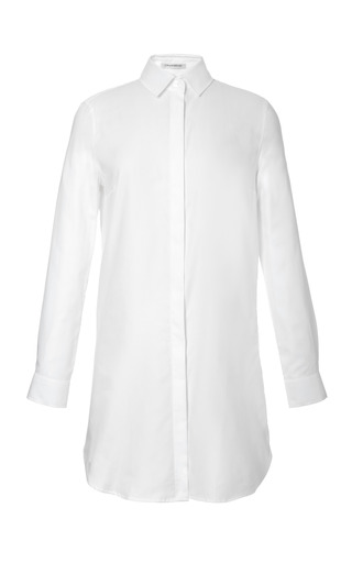 Medium j w anderson white cotton shirt dress
