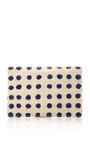 Raffia Embroidered Straw Clutch by KAYU Now Available on Moda Operandi