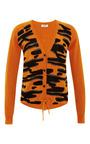 Intarsia Detail Wool Cardigan by KENZO Now Available on Moda Operandi