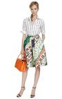 Cloud Print Cotton Shirt by KENZO Now Available on Moda Operandi