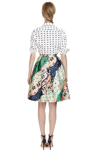 Cloud Print Cotton Shirt by KENZO Now Available on Moda Operandi