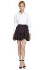 Ruffled Cotton Mini Skirt by KENZO Now Available on Moda Operandi