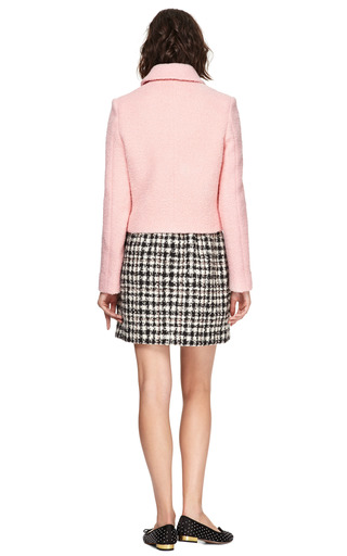Boiled Wool Double Breasted Jacket by KENZO Now Available on Moda Operandi