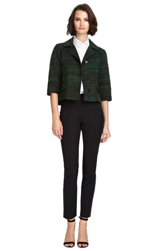 Cotton Blend Printed Jacket by MARNI Now Available on Moda Operandi